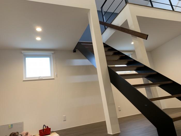 実は、中二階があるお家なんです